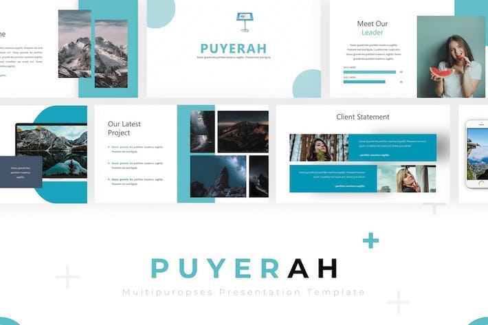 Thumbnail for Puyerah - Keynote Template