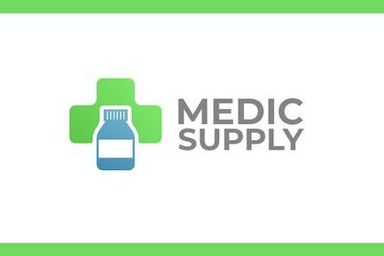 Medic Supply - Health and Medical Logo