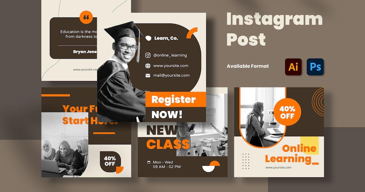 Download Education Instagram Post by mikrotypestd