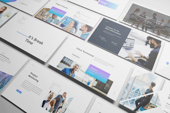 Thumbnail for Project Proposal Powerpoint Template