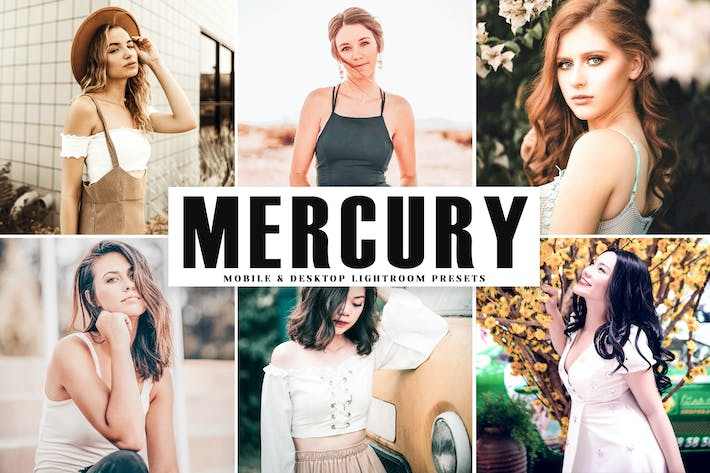 Thumbnail for Mercury Mobile & Desktop Lightroom Presets