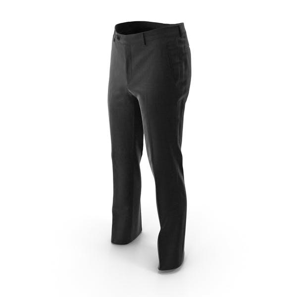 Мужские брюки черный