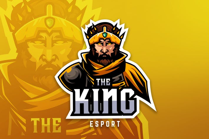 Thumbnail for King Sport And Esport Logo Vector Template