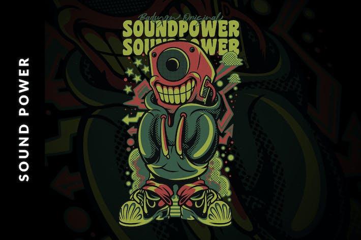 Thumbnail for Sound Power Illustration