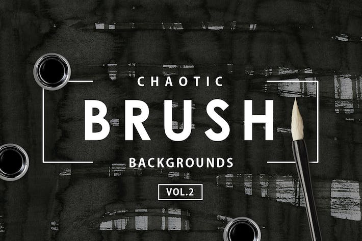 Chaotic Brush Backgrounds Vol.2