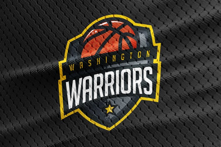 Thumbnail for Warriors - Basketball Team Logo Template