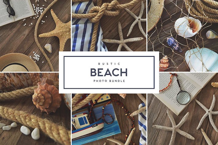 Thumbnail for Rustic Beach - Stock Photo Bundle