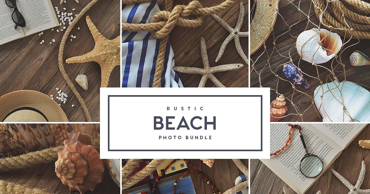 Download Rustic Beach - Stock Photo Bundle by MehmetRehaTugcu