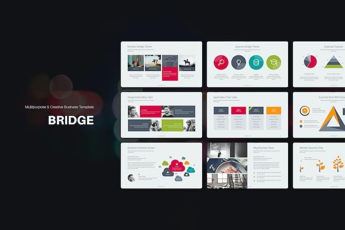 Thumbnail for Bridge Presentation Template (Keynote)