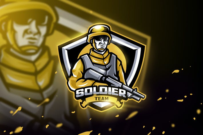 Thumbnail for Soldier Team - Mascot & Esport Logo