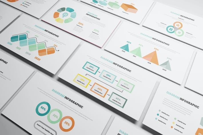 Thumbnail for Diagram Infographic Powerpoint Template