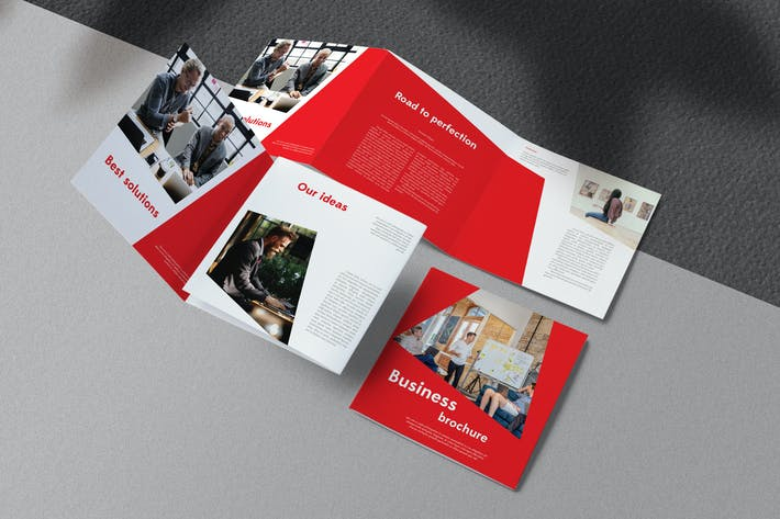Thumbnail for Red Business Brochure
