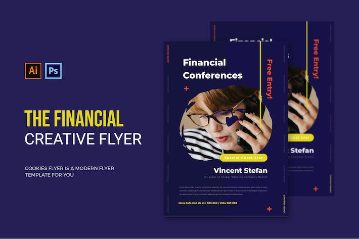 Thumbnail for Financial Conferences - Flyer