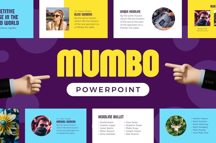 Thumbnail for Mumbo — Powerpoint Presentation Template