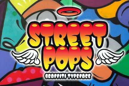 Street Pops - Graffiti Typeface
