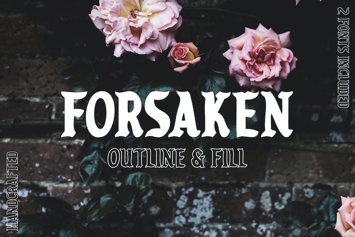 Thumbnail for Forsaken Font