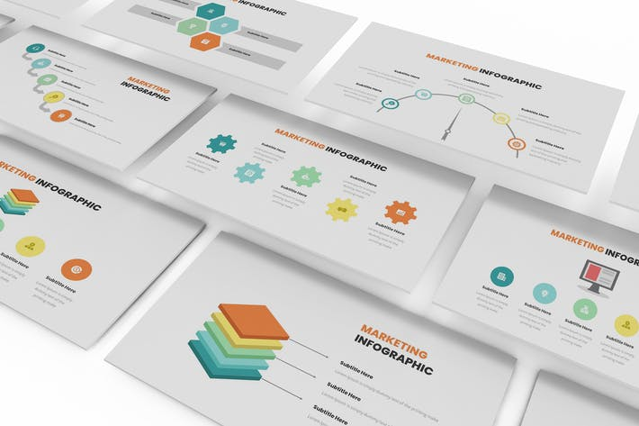 Cover Image For Marketing Infographic Google Slides Template