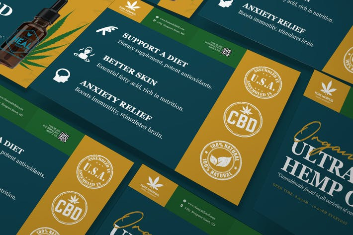Thumbnail for Hemp Product A5 Business Flyer