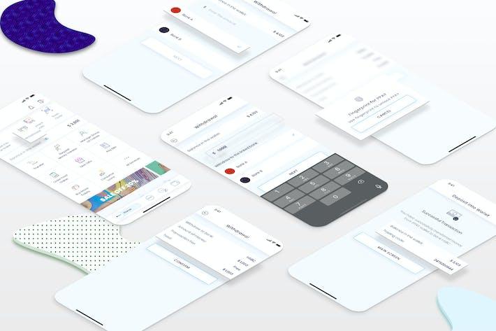 Thumbnail for Retrait - Portefeuille Mobile UI - FP