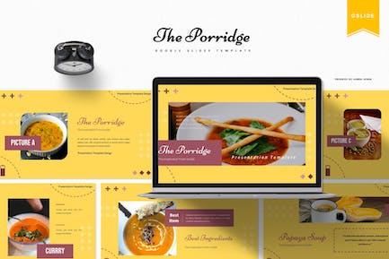The Porridge | Google Slides Template