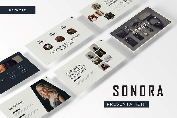 Cover Image For Sonora - Keynote Template