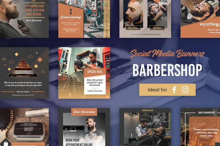 Thumbnail for Barbershop Banners