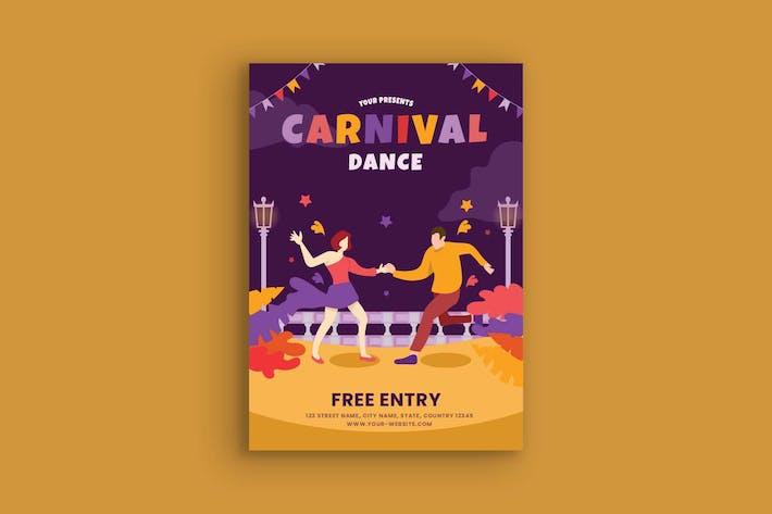 Thumbnail for Carnival Dance Poster