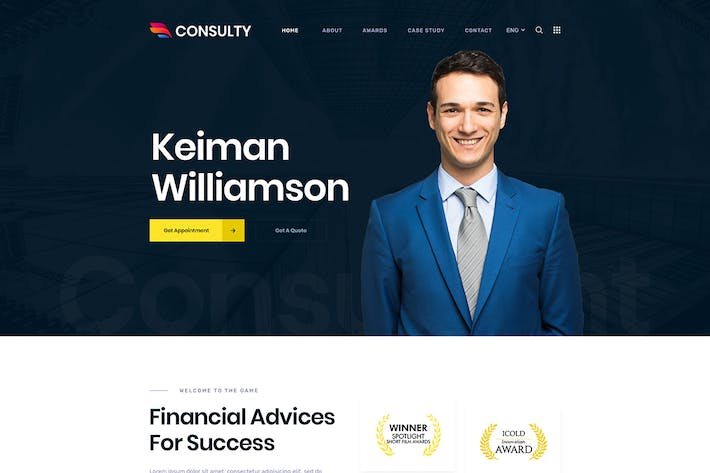 Thumbnail for Consulty - Finance Consulting et Assurances HTML T