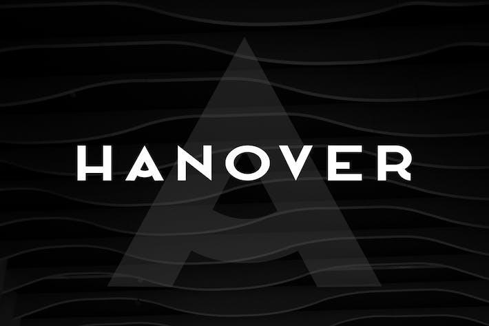 Thumbnail for HANOVER - Minimal & Stylish Display Typeface