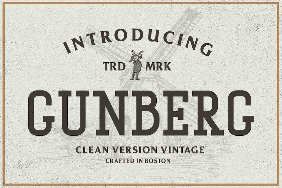 Fuente Gunberg Vintage