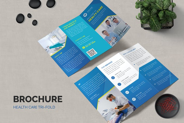 Health Care Medicine Trifold Brochure