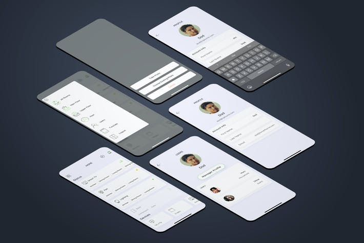 Host Smarthome Mobile UI - FP