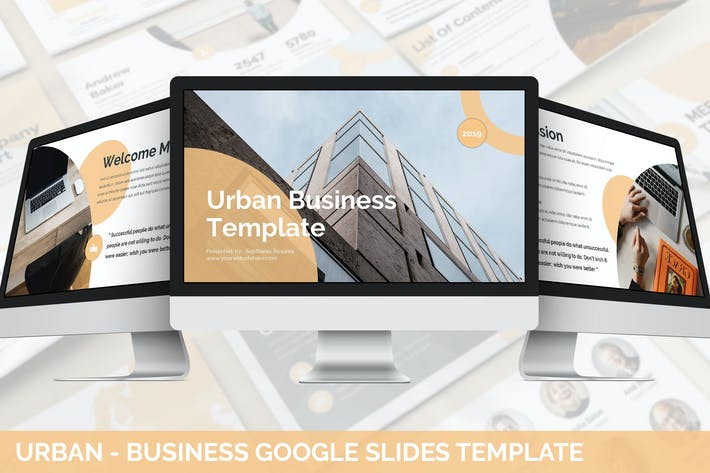 Thumbnail for Urban - Business Google Slides Template