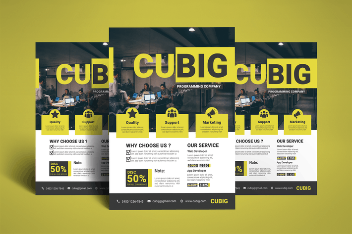 Thumbnail for Startup Agency Business Flyer