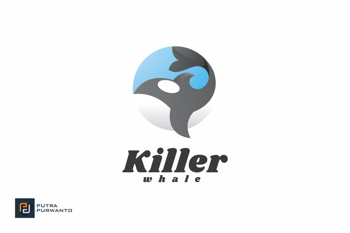Thumbnail for Killer Whale - Logo Template