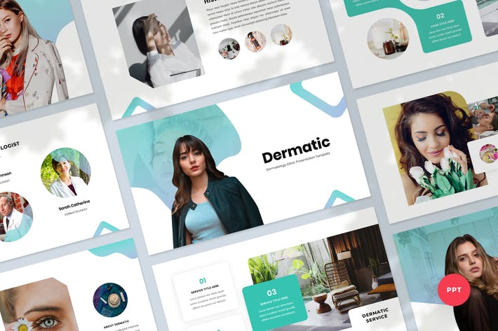 Thumbnail for Dermatology Powerpoint Presentation Template
