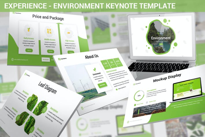 Thumbnail for Experience - Environment Keynote Template