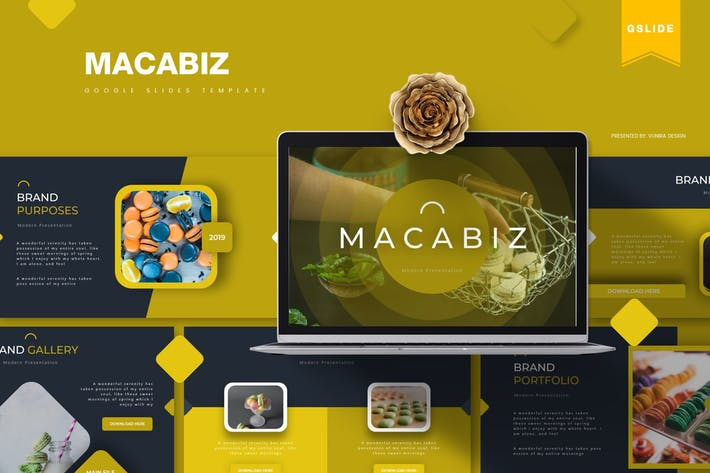 Thumbnail for Macabiz | Google Slides Template
