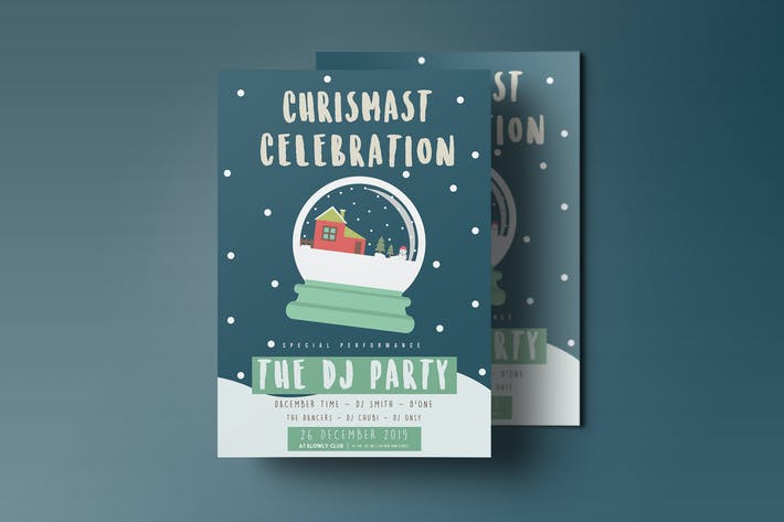Thumbnail for Chrismas Celebration flyer 2
