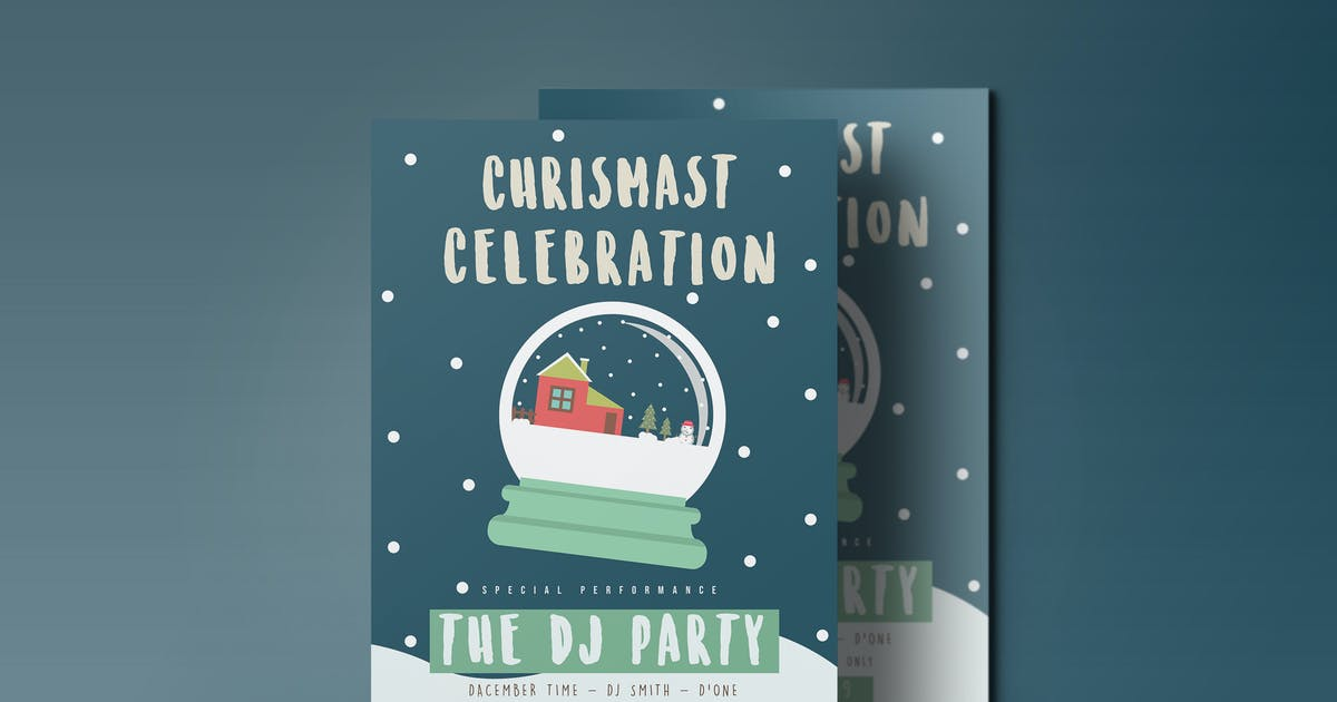 Download Chrismas Celebration flyer 2 by maghrib
