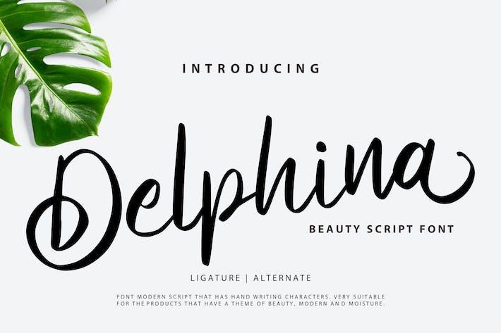 Thumbnail for Delphina | Beauty Script Font