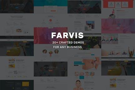 Farvis - Multipurpose WordPress Theme