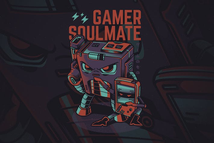 Cover Image For Gamer Soulmate