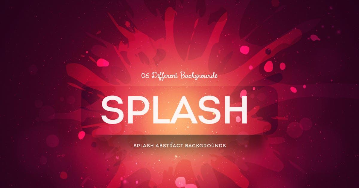Splash Abstract Backgrounds by mamounalbibi