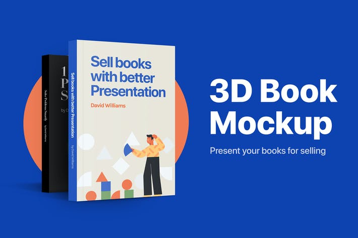 Thumbnail for 3D Book Mockup