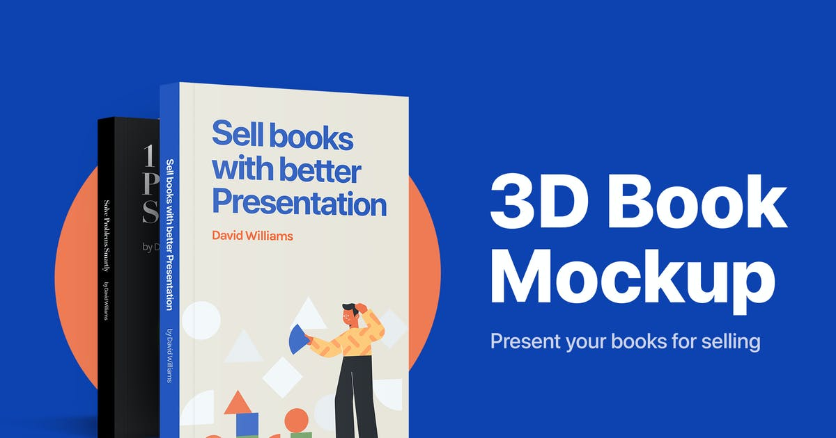 Download 3D Book Mockup by maxgrids