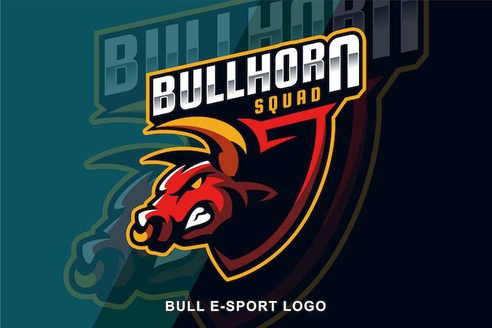 Thumbnail for Bull Angry E Sport logo