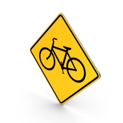 Fahrräder-Verkehrszeichen