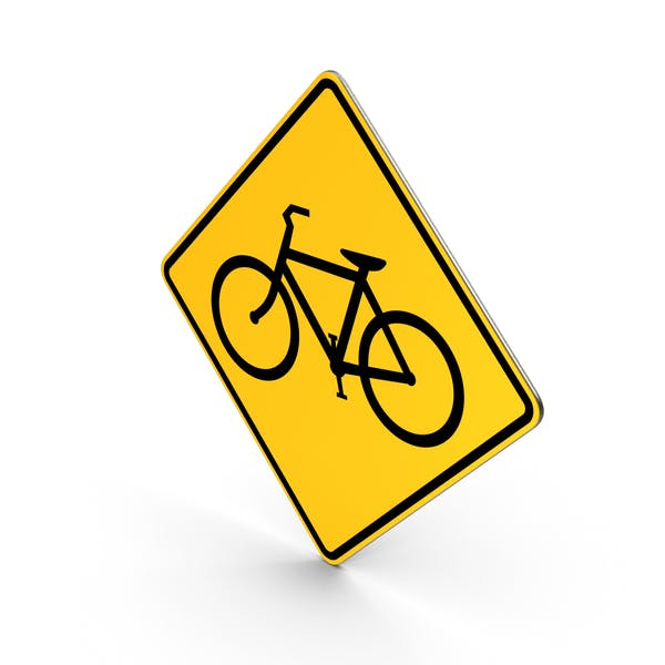 Bicycles Road Sign