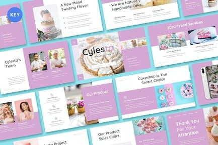 Cylesta - Cake & Snake Keynote